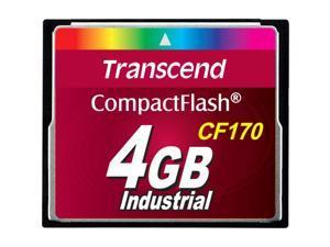 Transcend CF170 4 GB CompactFlash (CF) Card - 1 Card