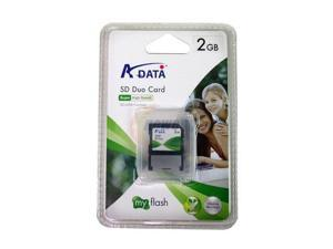 ADATA 2GB SD DUO (SD + USB) Flash Card