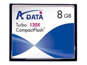 ADATA 8GB Compact Flash (CF) Flash Card