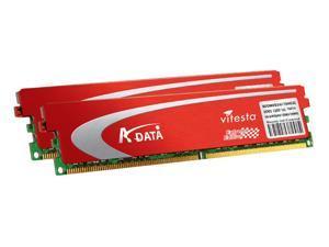 ADATA Extreme Edition 2GB (2 x 1GB) 240-Pin DDR2 SDRAM DDR2 800 (PC2 6400) Dual Channel Kit Desktop Memory Model ADQVD1A16K