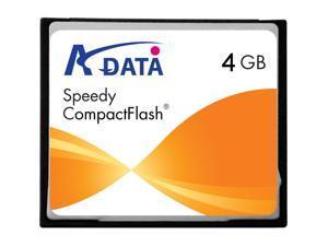 ADATA Speedy 4GB Compact Flash (CF) Flash Card Model SPEEDY CF 4GB