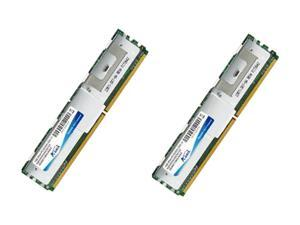 ADATA 4GB (2 x 2GB) 240-Pin DDR2 FB-DIMM ECC Fully Buffered DDR2 667 (PC2 5300) Dual Channel Kit Server Memory Model SC2PE1B18K