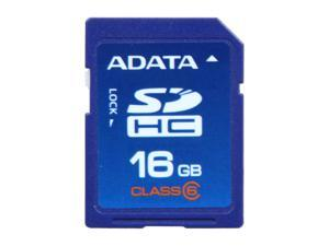 ADATA 16GB Class 6 Secure Digital High-Capacity (SDHC) Flash Card