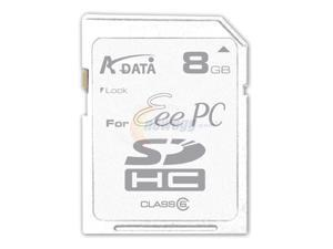 ADATA 8GB Secure Digital High-Capacity (SDHC) Flash Card Eee PC Edition