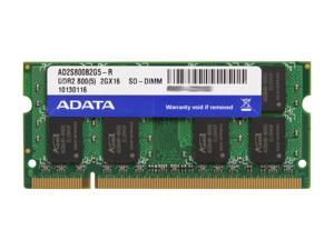 ADATA 2GB 200-Pin DDR2 SO-DIMM DDR2 800 (PC2 6400) Laptop Memory