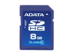 ADATA 8GB Class 10 Secure Digital High-Capacity (SDHC) Flash Card