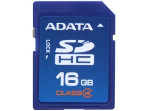 ADATA 16GB Class 4 Secure Digital High-Capacity (SDHC) Flash Card