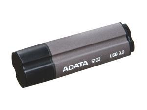 A-DATA Superior Series 16GB S102 USB 3.0 Flash Drive (Titanium Gray)