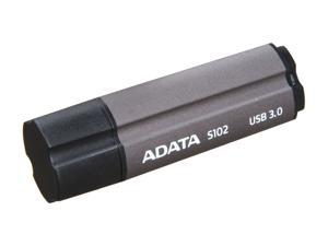 ADATA Superior Series 32GB S102 USB 3.0 Flash Drive (Titanium Gray)