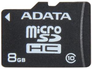 ADATA 8GB Class 10 Micro SDHC Flash Card