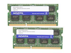ADATA XPG Gaming Series 8GB (2 x 4GB) 204-Pin DDR3 SO-DIMM DDR3L 1600 (PC3L 12800) Laptop Memory Model AXDS1600GC4G9-2