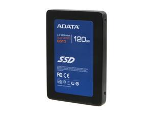 "ADATA S510 Series AS510S3-120GM-C 2.5"" 120GB SATA III MLC Internal Solid State Drive (SSD)"