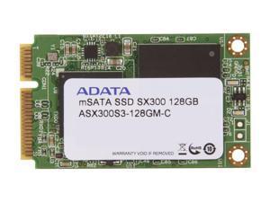 ADATA XPG SX300 ASX300S3-128GM-C 128GB Mini-SATA (mSATA) MLC Internal Solid State Drive (SSD)
