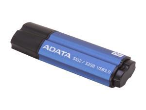 ADATA 32GB S102 Pro Advanced USB 3.0 Flash Drive, Speed Up to 100MB/s (AS102P-32G-RBL)