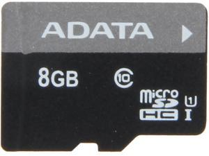 ADATA Premier 8GB microSDHC Class 10 Flash Card Model AUSDH8GUICL10-R