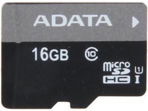 ADATA Premier 16GB microSDHC Class 10 Flash Card Model AUSDH16GUICL10-R