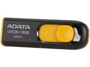 ADATA DashDrive UV128 8GB Flash Drive Model AUV128-8G-RBY