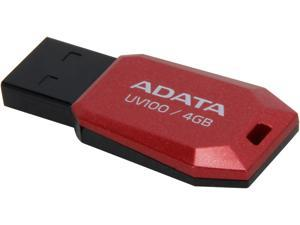 ADATA DashDrive UV100 4GB Slim Bevelled USB 2.0 Flash Drive