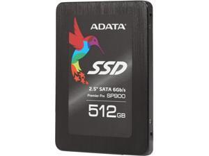"ADATA Premier Pro SP900 ASP900S3-512GM-C 2.5"" 512GB SATA III MLC Internal Solid State Drive (SSD)"
