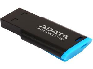 ADATA USA UV140 16GB USB 3.0 Flash Drive, Blue/Black (AUV140-16G-RBE)