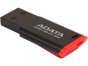 ADATA USA UV140 16GB USB 3.0 Flash Drive, Red/Black (AUV140-16G-RKD)