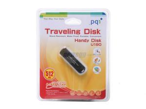 PQI U190 512MB Flash Drive (USB2.0 Portable)
