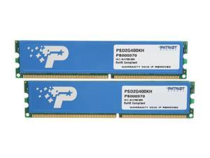 Patriot Signature 2GB (2 x 1GB) 184-Pin DDR SDRAM DDR 400 (PC 3200) System Memory