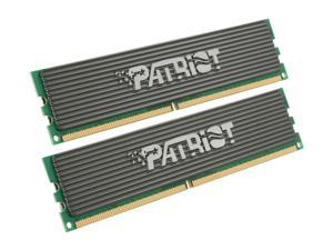 Patriot 2GB (2 x 1GB) 240-Pin DDR2 800 (PC2 6400) Dual Channel Kit Memory