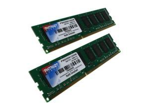 Patriot 2GB (2 x 1GB) 240-Pin DDR3 SDRAM DDR3 1333 (PC3 10600) Dual Channel Kit Desktop Memory Model PSD32G1333K