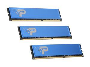 Patriot 6GB (3 x 2GB) 240-Pin DDR3 SDRAM DDR3 1066 (PC3 8500) Triple Channel Kit Desktop Memory Model PSD36G1066KH
