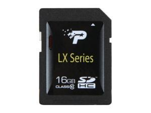Patriot LX Series 16GB Class 10 Secure Digital High-Capacity (SDHC) Flash Card Model PSF16GSDHC10