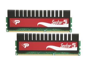 Patriot G Series 'Sector 5' 4GB (2 x 2GB) 240-Pin DDR3 SDRAM DDR3 2000 (PC3 16000) Desktop Memory Model PGV34G2000ELK