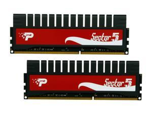 Patriot G series 'Sector 5' Edition 8GB (2 x 4GB) 240-Pin DDR3 SDRAM DDR3 1600 (PC3 12800) Desktop Memory Model PGV38G1600ELK