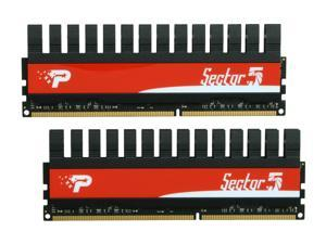 Patriot Viper II 'Sector 5' Edition 4GB (2 x 2GB) 240-Pin DDR3 SDRAM DDR3 2400 (PC3 19200) Desktop Memory