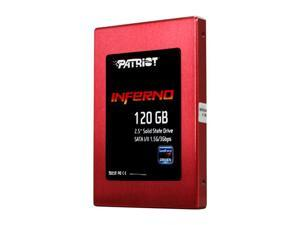 "Patriot Inferno PI120GS25SSDR 2.5"" 120GB SATA II MLC Internal Solid State Drive (SSD)"