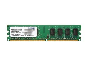 Patriot 2GB 240-Pin DDR2 SDRAM DDR2 800 (PC2 6400) Desktop Memory Model PSD22G80026