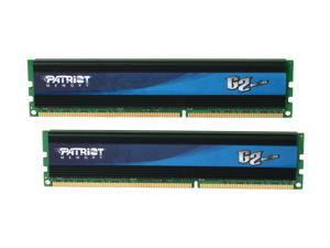 Patriot Gamer 2 Series 8GB (2 x 4GB) 240-Pin DDR3 SDRAM DDR3 1333 (PC3 10666) Desktop Memory Model PGD38G1333ELK