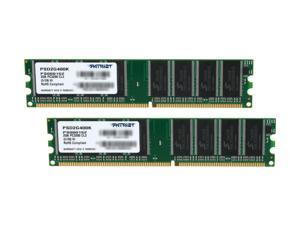 Patriot Signature 2GB (2 x 1GB) 184-Pin DDR SDRAM DDR 400 (PC 3200) Desktop Memory