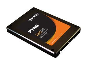 "Patriot Pyro PP120GS25SSDR 2.5"" MLC Internal Solid State Drive (SSD)"