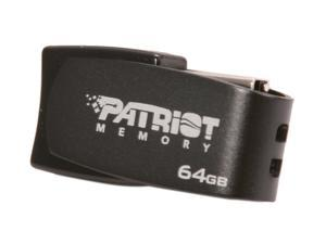 Patriot Axle 64GB USB 2.0 Flash Drive (Gray)