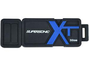 Patriot Memory 32GB Supersonic Boost XT USB 3.0 Flash Drive, Speed Up to 150MB/s (PEF32GSBUSB)