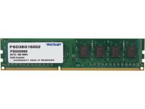 Patriot Signature 8GB 240-Pin DDR3 SDRAM DDR3 1600 (PC3 12800) Desktop Memory Model PSD38G16002