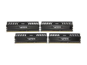 Patriot Viper 3 16GB (4 x 4GB) 240-Pin DDR3 SDRAM DDR3 1600 (PC3 12800) Desktop Memory