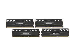 Patriot Viper 3 32GB (4 x 8GB) 240-Pin DDR3 SDRAM DDR3 1600 (PC3 12800) Desktop Memory