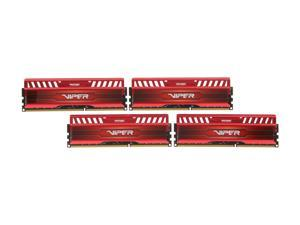 Patriot Viper 3 32GB (4 x 8GB) 240-Pin DDR3 SDRAM DDR3 1866 (PC3 15000) Desktop Memory Model PV332G186C0QKRD