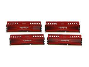 Patriot Viper 3 32GB (4 x 8GB) 240-Pin DDR3 SDRAM DDR3 1600 (PC3 12800) Desktop Memory Model PV332G160C9QKRD