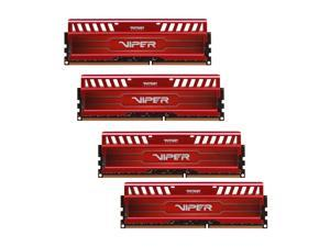 Patriot Viper 3 32GB (4 x 8GB) 240-Pin DDR3 SDRAM DDR3 1600 (PC3 12800) Desktop Memory Model PV332G160C0QKRD