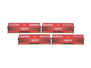 Patriot Viper 3 16GB (4 x 4GB) 240-Pin DDR3 SDRAM DDR3 2133 (PC3 17000) Desktop Memory Model PV316G213C1QKRD