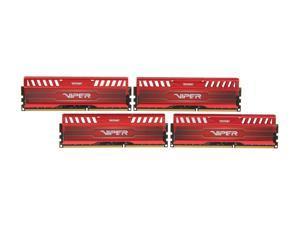 Patriot Viper 3 16GB (4 x 4GB) 240-Pin DDR3 SDRAM DDR3 1866 (PC3 15000) Desktop Memory Model PV316G186C9QKRD