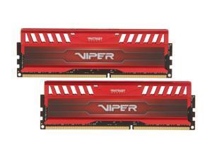 Patriot Viper 3 16GB (2 x 8GB) 240-Pin DDR3 SDRAM DDR3 1866 (PC3 15000) Desktop Memory Model PV316G186C0KRD